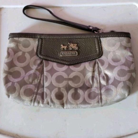 Coach Handbags - Authentic Coach Wristlet.